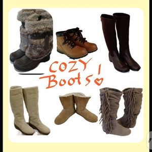 Check out all of my Boots!